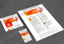 Projekt strony internetowej, pocięcie, kodowanie, HTML 5 + CSS + JS + Bootstrap
