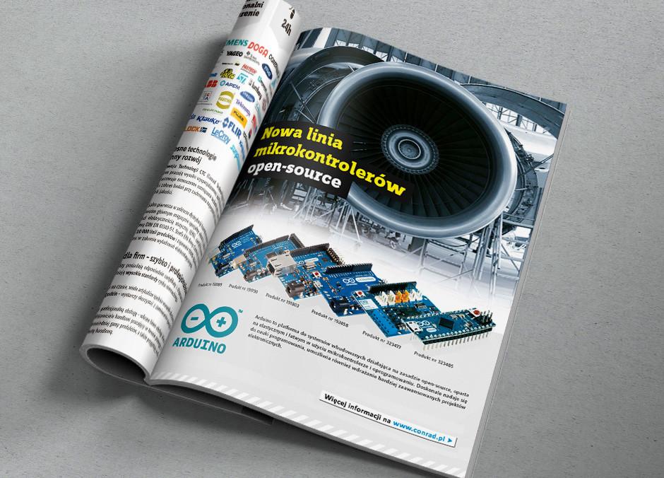Moduł reklamowy, Format A4, 4+0