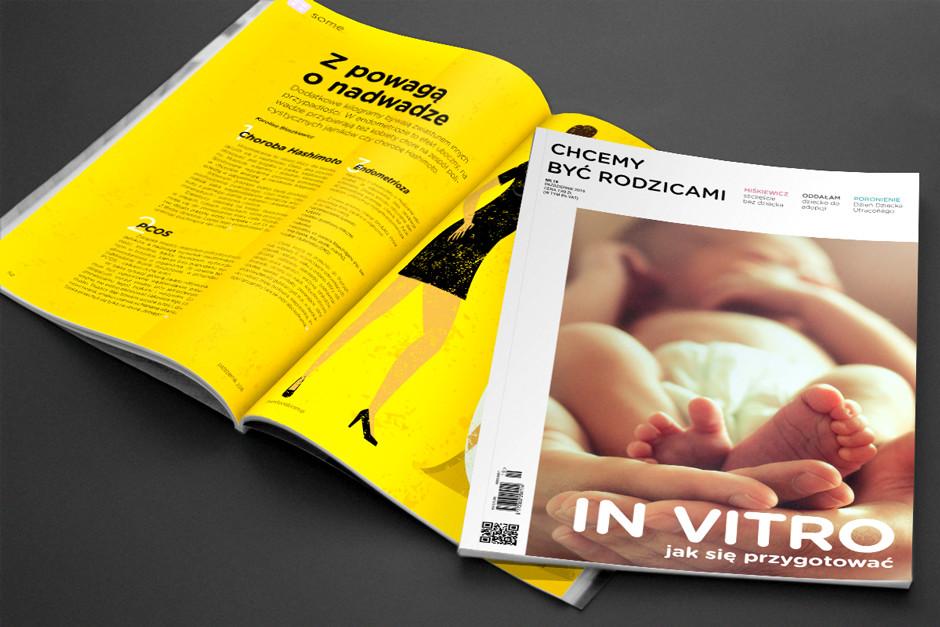 Magazyn A4, 4+4, 80 stron. Skład + projekt graficzny